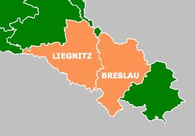 Regierungsbezirke in Neder-Silezië (1922)