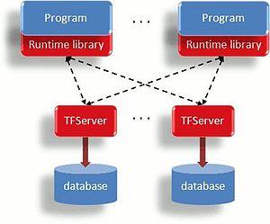 Raima Database Manager - Raima Database Manager Transactional File Server Operation