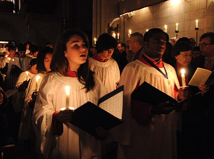 The large repertoire of Advent and Christmas church music plays an important role in services RLR 3898 (5261831846).jpg