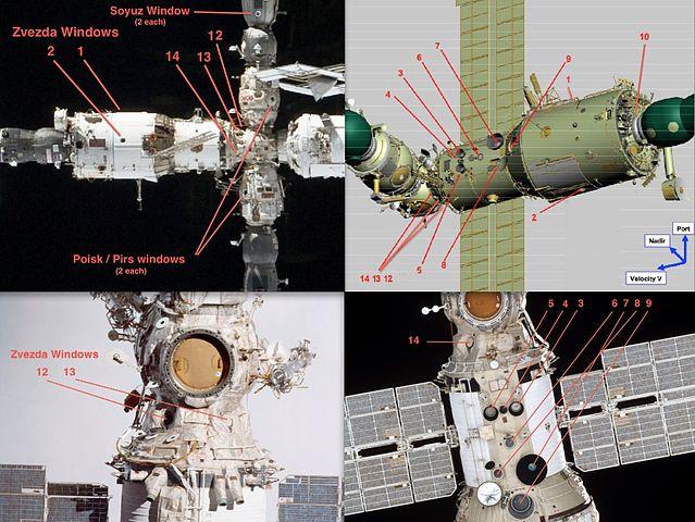 Russian Space Segment windows, from Wikipedia