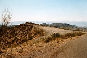 Warm Springs Wilderness - Image: ROUTE 66 Sitgreaves Pass