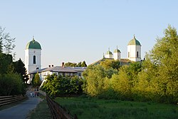 RO IF Cernica monastery from island.jpg