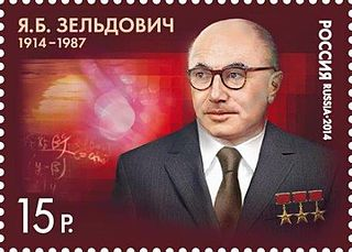 Yakov Zeldovich Soviet physicist, physical chemist and cosmologist