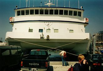 Monterey Bay Aquarium Research Institute - Research vessel Western Flyer at MBARI Pier