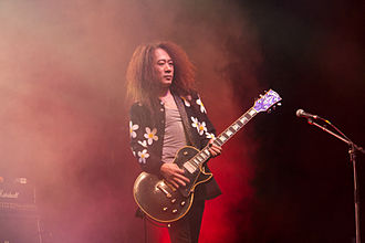 Pata (musician) - Pata with Ra:IN at Japan Expo in 2008.