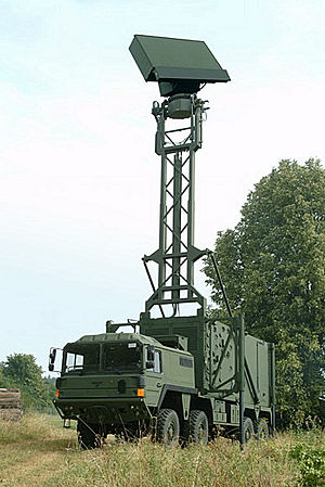 Airspace Surveillance and Control Command (Lithuania) - Image: Radar TRML 3D
