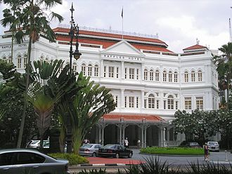 Singapore - Raffles Hotel was established in 1887.
