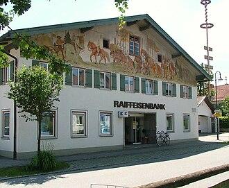 Aitrang - Image: Raiffeisenbank Aitrang 2