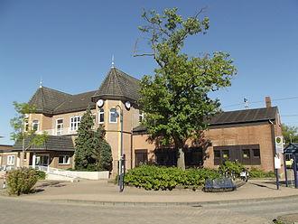 County of Bentheim (district) - Railway station Bad Bentheim