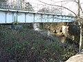 Railway bridge over the Ewenny, Bridgend - geograph.org.uk - 1151607.jpg