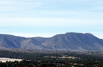 Manitou Mineral Springs - Rampart Range