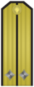 Rank insignia of Лейтенант of the Bulgarian Navy.png