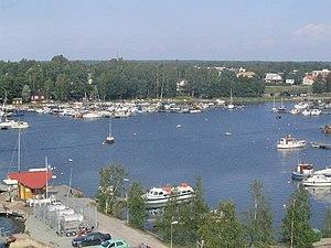 Rauma, Finland - Marina in Rauma, Finland
