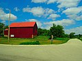 Red Barn with a Red Roof - panoramio.jpg