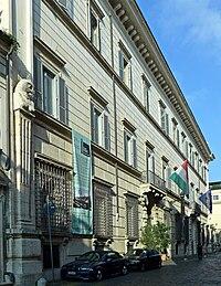 Regola - via Giulia palazzo Falconieri facciata 1180066.JPG