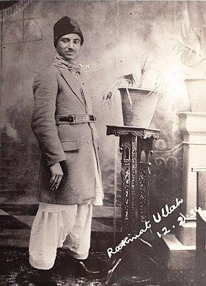 Shahzada Rehmatullah Khan Saddozai - Image: Rehamatullah Khan Durrani