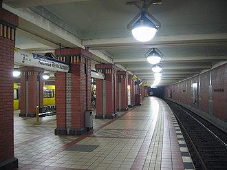 Rathaus Reinickendorf (Berlin U-Bahn) - U-Bahn station Rathaus Reinickendorf