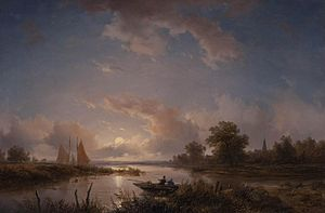 Remigius Adrianus Haanen - Fishermen at dawn