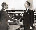 Rene Thibault et Hassan II du Maroc en 1967.jpg