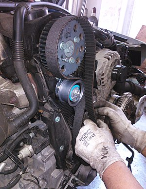 Timing belt (camshaft) - Replacing a timing belt on a car