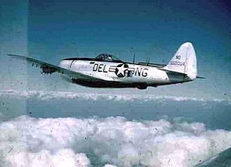 Delaware Air National Guard - 142d Fighter Squadron P-47N 45-50034, 1947