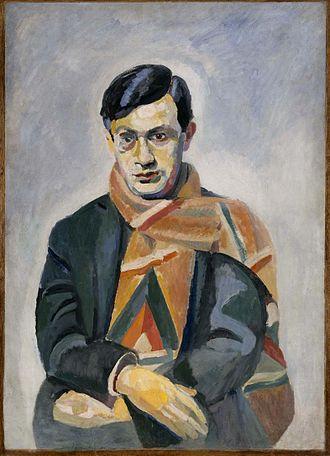 Tristan Tzara - Robert Delaunay's portrait of Tzara, 1923