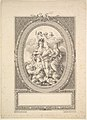 Reverse Copy of Allegory of Louis XVI on the Occasion of his Accession to the Throne of France in 1774 MET DP828997.jpg