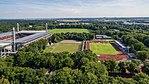 Rheinenergie-Stadion, Westkampfbahn und NetCologne-Stadion im Sportpark Müngersdorf-0070.jpg