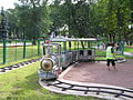 Ridable miniature railway in Pskov.JPG