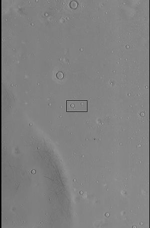 Ring mold crater - Image: Ring Mold context image