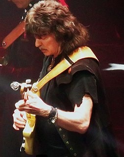 Ritchie Blackmore British guitarist and songwriter, guitarist of Deep Purple