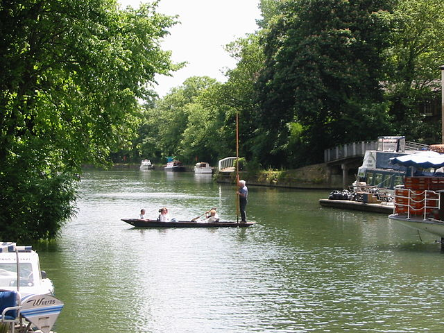 The River Thames outside of Oxford