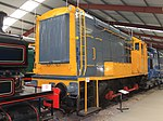 Riverside Railway Museum - NS 601 (bonnet end).JPG