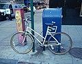 Roadmaster Cape Cod white girl bike 59 St 6 Av SW jeh.jpg