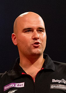 Rob Cross (darts player) English professional darts player