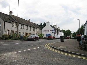 Buchlyvie - Image: Rob Roy Inn, Buchlyvie (geograph 4053321)