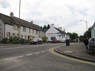 Buchlyvie village in Stirling, Scotland, UK