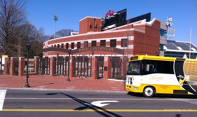 Como andar de ônibus em Atlanta
