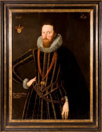 The Johnston Collection - Robert Peake the Elder, Lord Edward Montagu, 1601, oil on panel, The Johnston Collection
