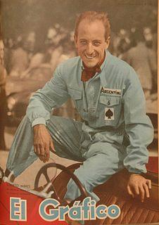 Roberto Mieres racecar driver
