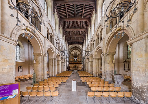 Rochester Cathedral Nave 1, Kent, UK - Diliff