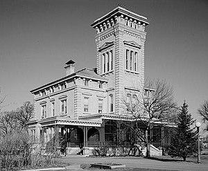 Rock Island Arsenal - Image: Rock Island Arsenal, Building No. 1, Gillespie Avenue between Terrace Drive & Hedge Lane, Rock Island,( Rock Island County, Illinois)
