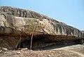 Rock cut caves (Jain Vestiges) at Ghanikonda 01.JPG