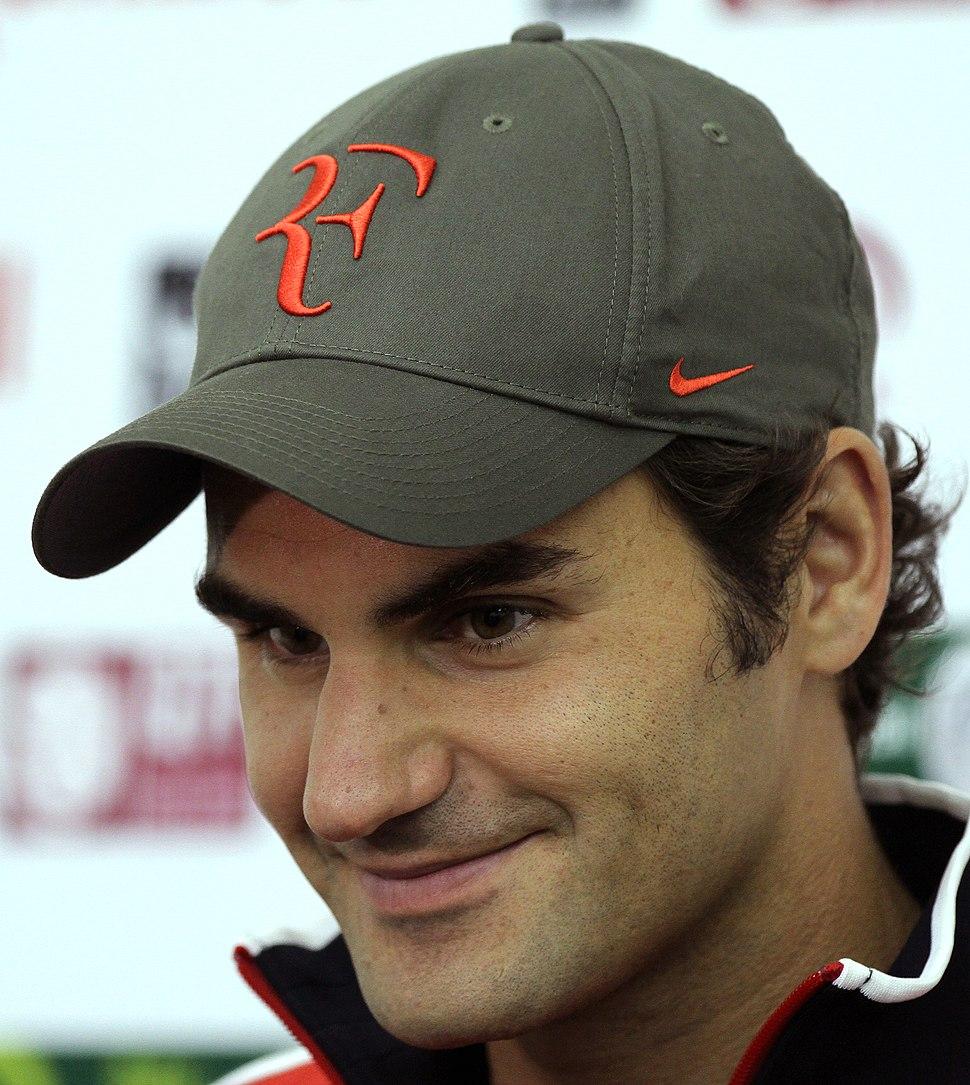 Roger Federer 2012 Doha