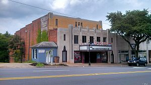 Central Shelby Historic District - Image: Rogers Theater
