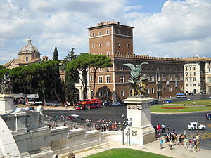 Polo Museale del Lazio - Rome, Palazzo Venezia, seat of the Polo Museale del Lazio.