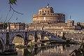 Roma Ponte Sant'Angelo Mausoleo di Adriano.jpg