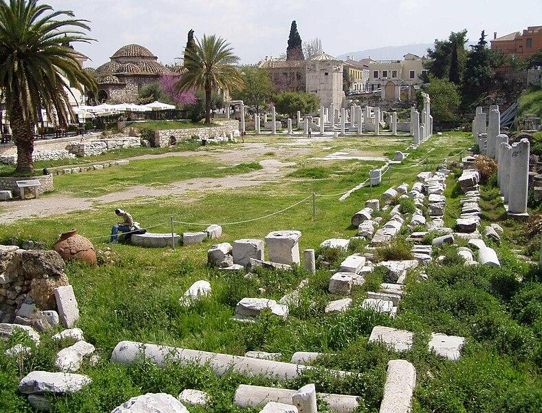 File:Roman Agora in Athens.jpg