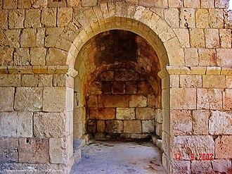 Tyre Hippodrome - Image: Roman Hippodrome Arch Tyre Lebanon