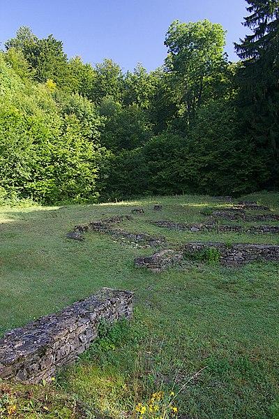 Roman waypost, Chameleux